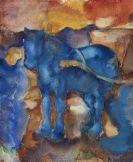 Alexej von Jawlensky - Blaues Pferd