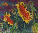 Philipp Bauknecht - Zwei Sonnenblumen