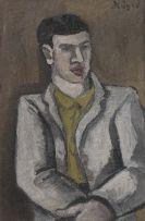 Helmut Kolle gen. vom Hügel - Porträt (Selbstbildnis)