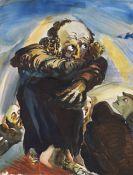 Ludwig Meidner - Die Pauluspredigt