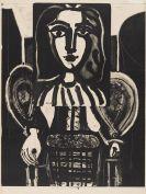 Picasso, Pablo - Femme au fauteuil (Variante)