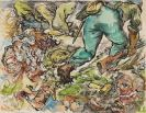 George Grosz - Cain and Abel