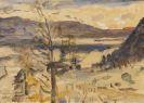 Lovis Corinth - Walchensee Landschaft
