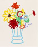 Tom Wesselmann - Study for Wildflower Bouquet