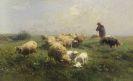 Heinrich von Zügel - Sonnige Weide