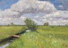 Otto Modersohn - Sommerliche Wümmewiesen