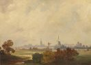 Friedrich Voltz - Herbstlandschaft in Holland