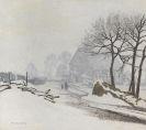 Max Clarenbach - Winterlandschaft bei Altastenberg