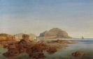 Louis Gurlitt - Die Bucht von Palermo mit dem Monte Pellegrino