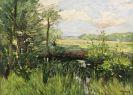 Karl Hagemeister - Der Schwielowsee bei Kaputh – Frühling