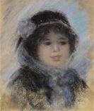 Pierre-Auguste Renoir - Portrait de femme