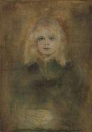 Franz von Lenbach - Marion Lenbach, Tochter des Künstlers
