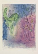 Marc Chagall - Ankunft des Dionysophanes