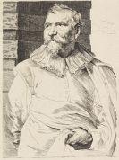 Dyck, Antonius van - Porträt von Adam van Noort