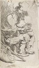 Harmensz. van Rijn Rembrandt - Bettler mit der Glutpfanne
