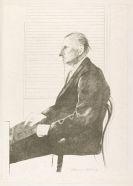 David Hockney - Porträt von F. H. Man