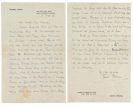 Thomas Mann - Eigh. Brief. 4 Seiten