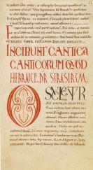 - Biblia latina. Handschrift auf Pergament, 12. Jahrhundert