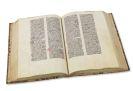 Mauritius Hibernicus - Distinctiones. Manuskript auf Pergament