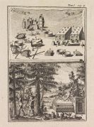 Henri Louis Duhamel du Monceau - Abhandlung von Bäumen, Stauden und Sträuchern, 3 Teile in 1 Band