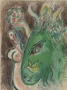 Marc Chagall - Drawing for the Bible
