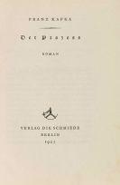 Franz Kafka - 4 Werke: Der Prozess, Das Urteil, Das Schloss, Der Heizer