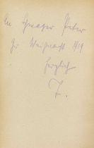 Mann, Thomas - 3 Werke aus der Bibliothek Peter Pringsheim