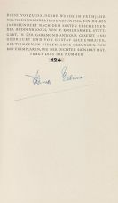 Thomas Mann - Buddenbrooks (sign.). Dabei: 2 sign. Vorzugsausgaben