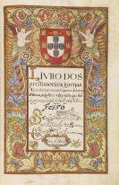 Manuskripte - Livro dos prestimonios. Manuskript