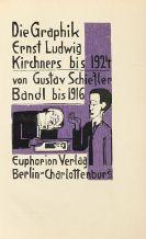 Gustav Schiefler - Die Graphik Ernst Ludwig Kirchners. 2 Bände