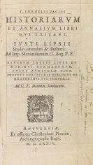 Publius Cornelius Tacitus - Historiarum et annalium libri