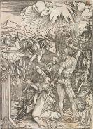 Dürer, Albrecht - Marter der Hl. Katharina + Marter der 10.000 + Schutzheilige Österreichs