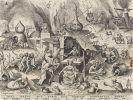 Brueghel d. Ä., Pieter - Avaritia (aus: Die Sieben Totsünden)