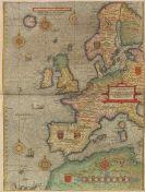 Lucas Janszoon Waghenaer - Speculum nauticum super navigatione maris, 2 Teile in 1 Band