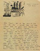 Lyonel Feininger - Eigenhändiger Brief. 30. März 1923