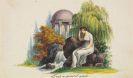 Album amicorum - 61 Bll. Stammbuch-Illustrationen, in 3 Alben
