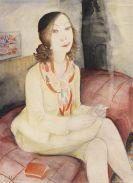 Jeanne Mammen - Meditation