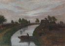 Otto Modersohn - Sommerabend im Moor