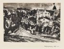 Paul Klee - Straßenverzweigung (bei aufgeweichtem Boden)