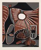 Picasso, Pablo - Nature morte au casse-croûte