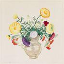 Gabriele Münter - Blumen in grauer Vase