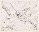 Ernst Ludwig Kirchner - Zeichnender Maler in Landschaft