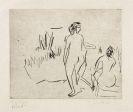 Ernst Ludwig Kirchner - Moritzburger Badende am Schilf
