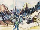 Ernst Ludwig Kirchner - Landschaft bei Davos im Winter
