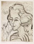 Ernst Ludwig Kirchner - Köpfe