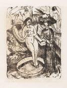 Ernst Ludwig Kirchner - Der Besuch der Freundin