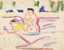 Ernst Ludwig Kirchner - Badende Frauen