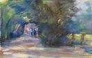 Max Liebermann - Allee mit zwei Reitern