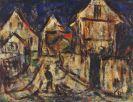 Christian Rohlfs - Häuser in Soest