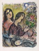 Marc Chagall - La Femme du peintre